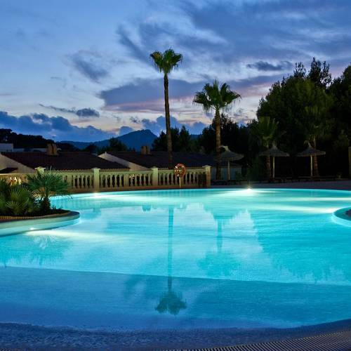 Outdoor Pool Continental Don Antonio Hotel Paguera, Mallorca