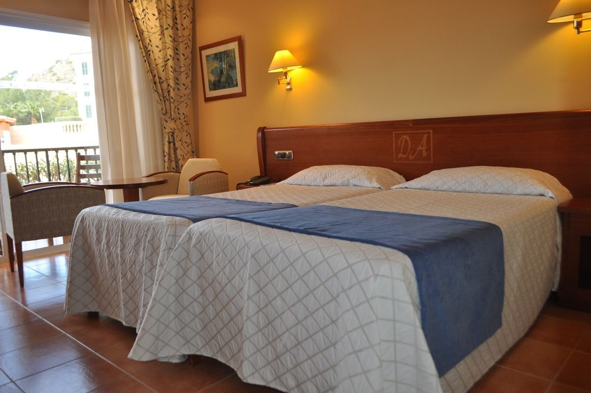 Standard double room Continental Don Antonio Hotel Paguera, Mallorca